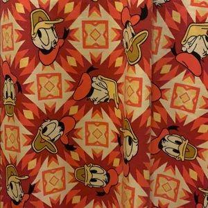 LuLaRoe Dresses - Womens Large Donald Duck Carly: LULAROE